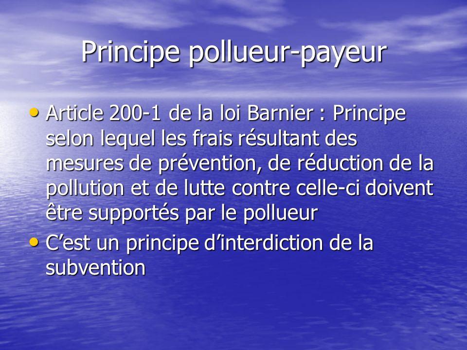 Bien que les conditions marginales soient identiques, elles ne conduisent pas au même niveau global de pollution Bien que les conditions marginales so