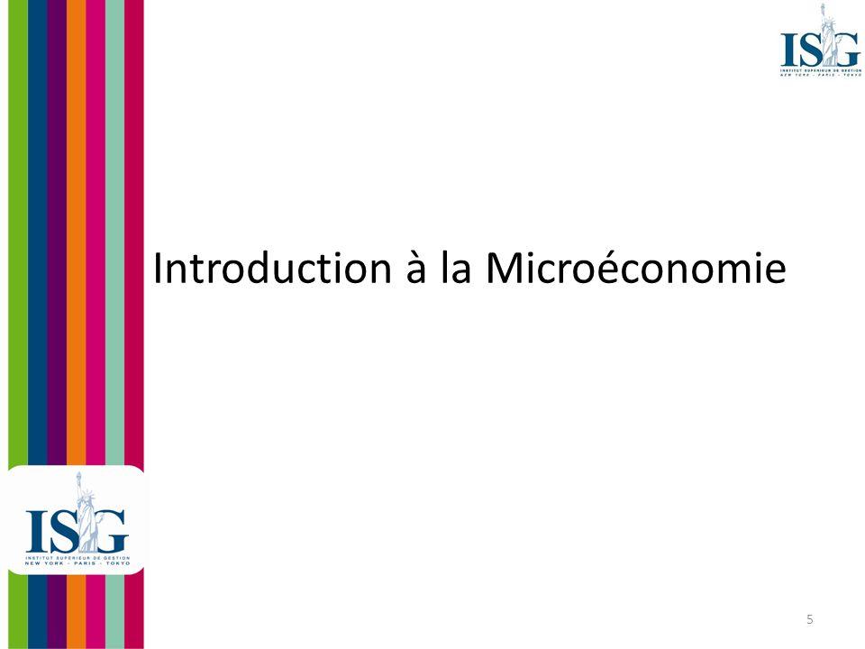 6 Quest-ce que la micro- économie.