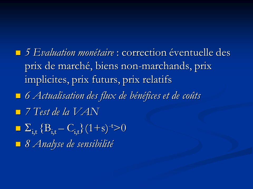 La structure dune ACB 1 Définition du projet : définition de la réallocation de ressources envisagée, identification des acteurs concernés 1 Définitio