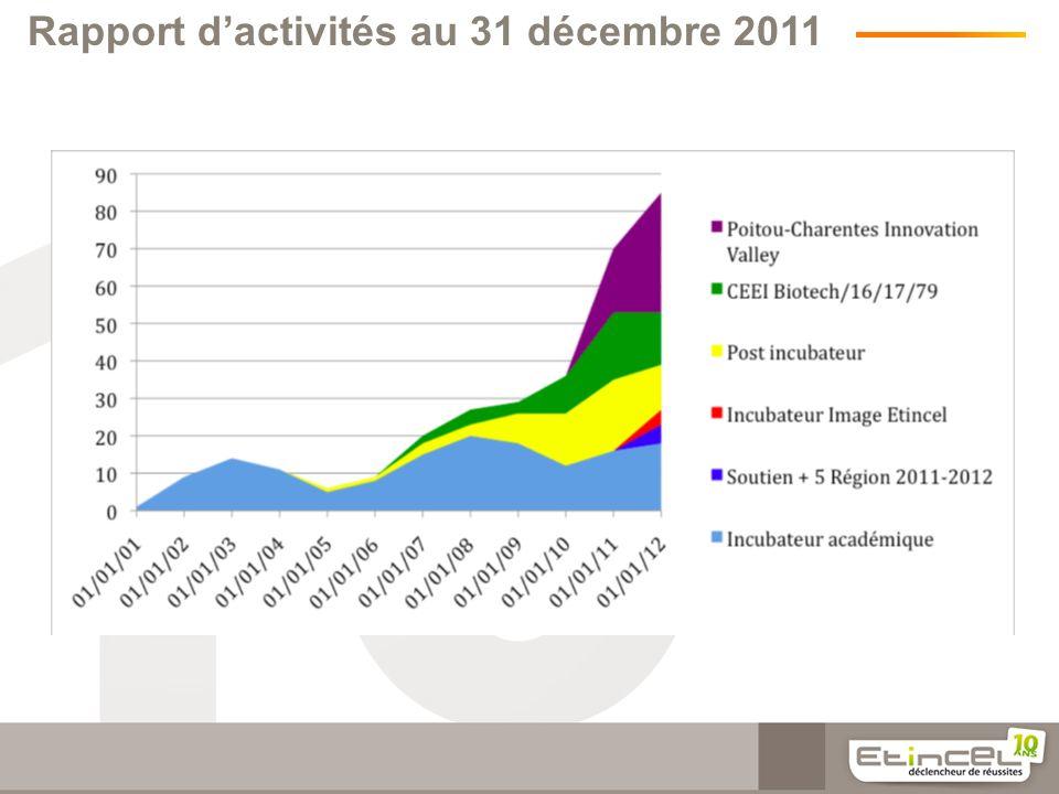 Rapport dactivités au 31 décembre 2011