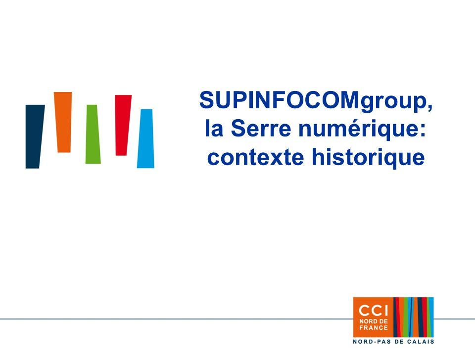 3 SUPINFOCOMgroup, la Serre numérique: contexte historique