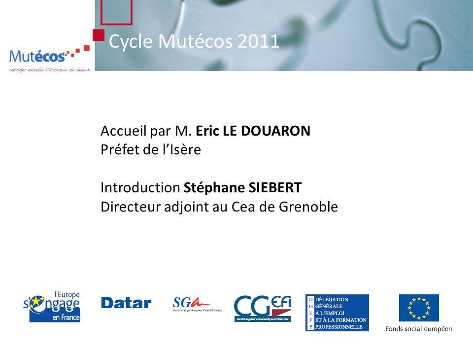 Cycle Mutécos 2011 Accueil par M.