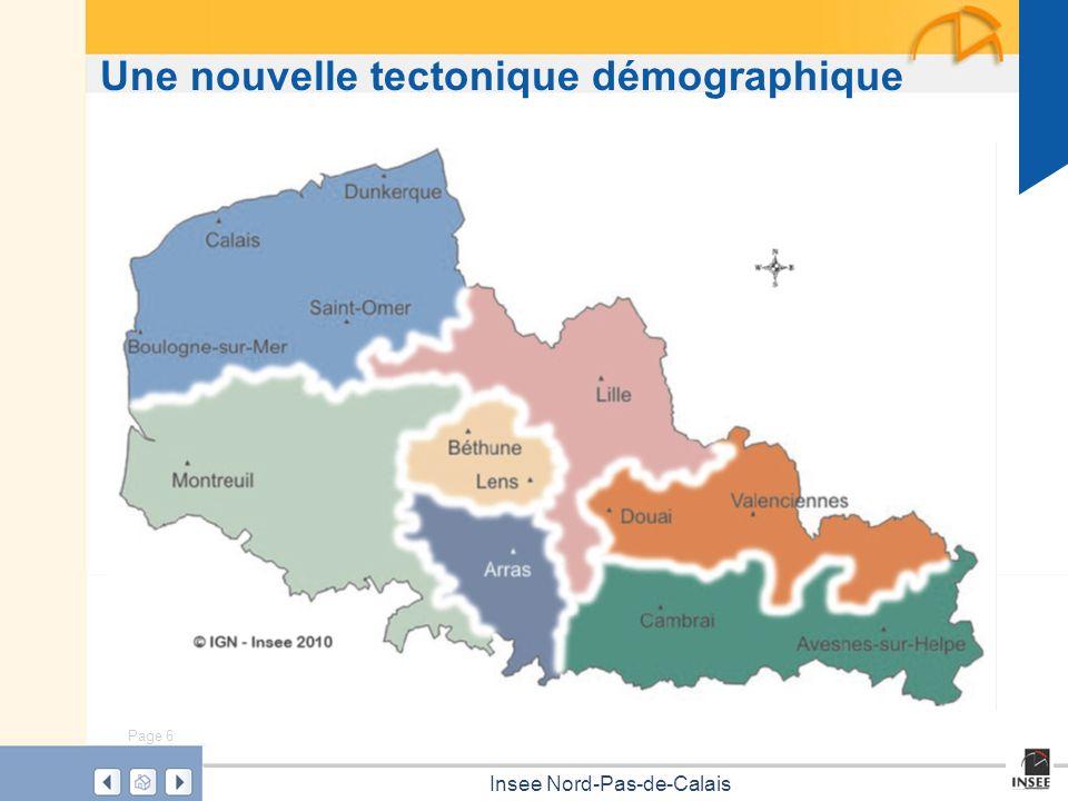 Page 6 Insee Nord-Pas-de-Calais Une nouvelle tectonique démographique