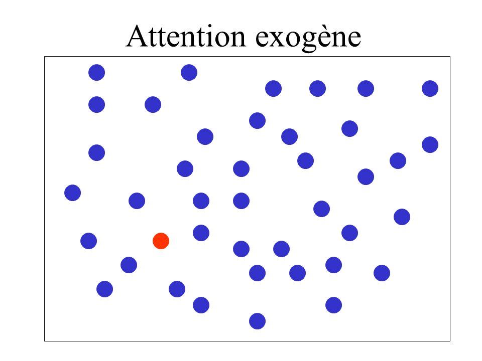 Attention endogène.