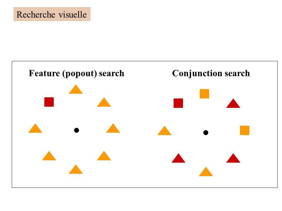 Feature (popout) searchConjunction search Recherche visuelle