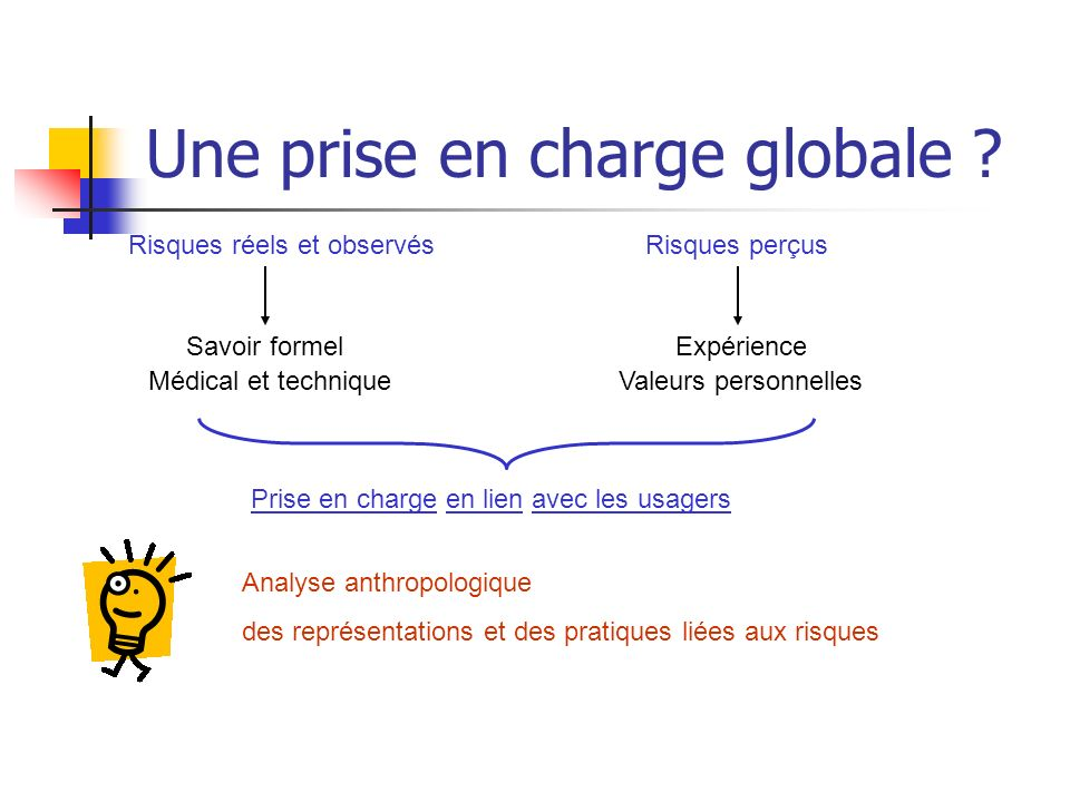 Une prise en charge globale .