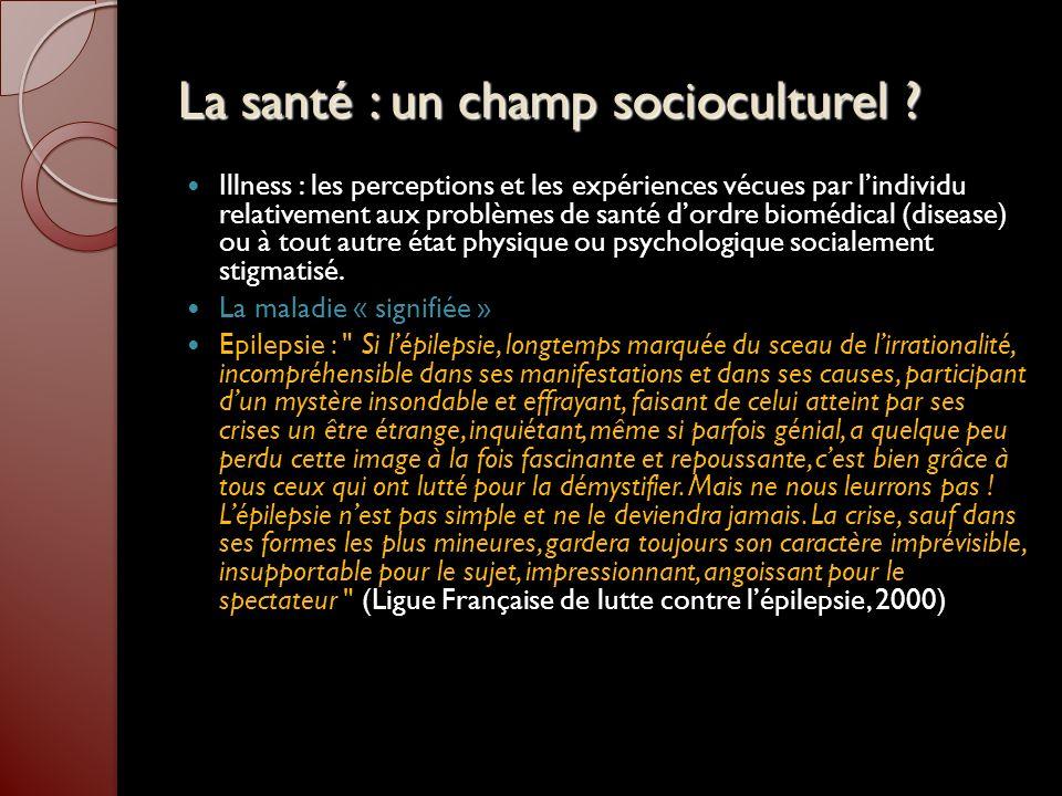 Bibliographie MASSE R.« Culture et santé publique » ed Gaëtan Morin, 1995, Montréal LAPLANTINE F.