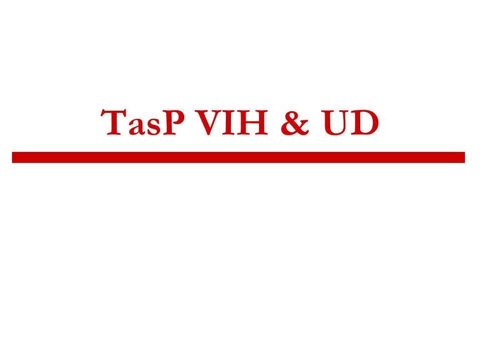 TasP VIH & UD