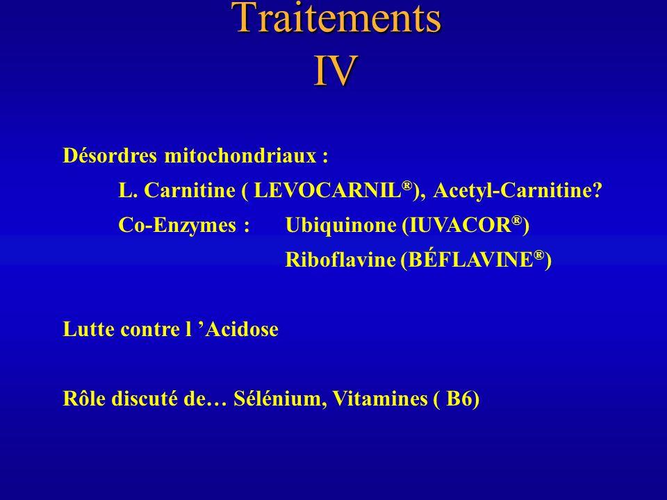 Quelques références I AUTHIER F-J.et Al. : peripheral Neuropathies in HIV-infected Patients.