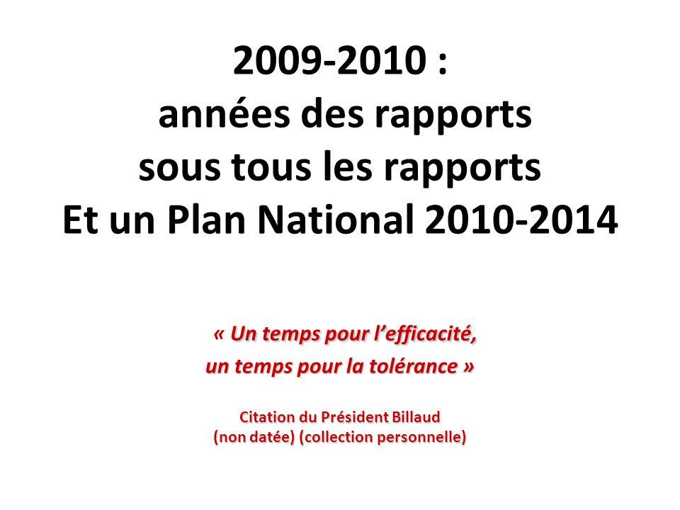 Plan National de lutte VIH et IST 2010-2014
