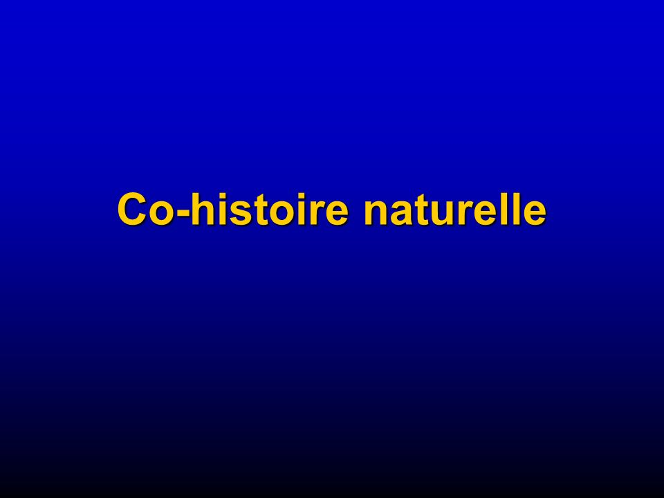 Co-histoire naturelle
