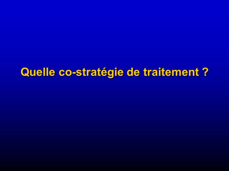 Quelle co-stratégie de traitement ?