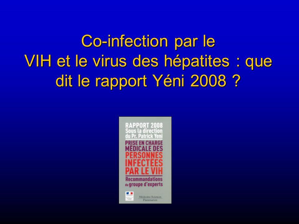 Co-infection par le VIH et le virus des hépatites : que dit le rapport Yéni 2008 ?