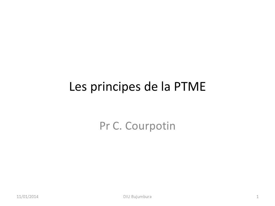 La clef de la réussite LE TRAITEMENT ANTIRETROVIRAL 11/01/2014Formation PTME Gabon12