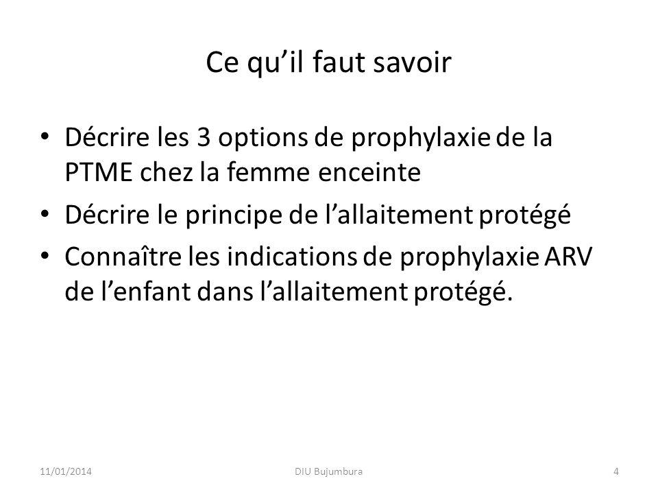 Formation PTME Gabon5 La PTME Aussi longtemps que le placenta et les membranes sont intactes le VIH ne passe pas de la mère à lenfant La transmission du VIH de la mère à lenfant dépend de la charge virale plasmatique 5 11/01/2014