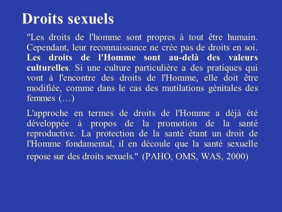 Droits sexuels
