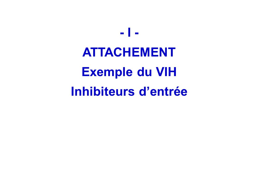Mécanismes moléculaires 1- Diminution daffinité 2- Augmentation de lexcision INTI sauf AZT INNTI IP T20 INSTI AZT MRV (R5-->X4)