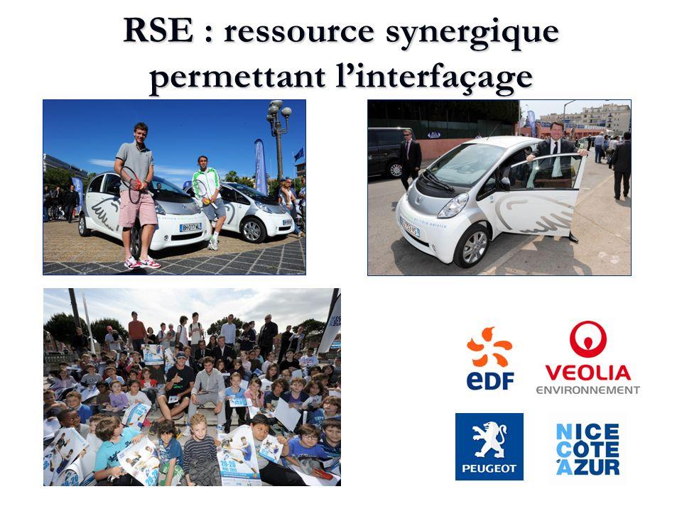 RSE : ressource synergique permettant linterfaçage
