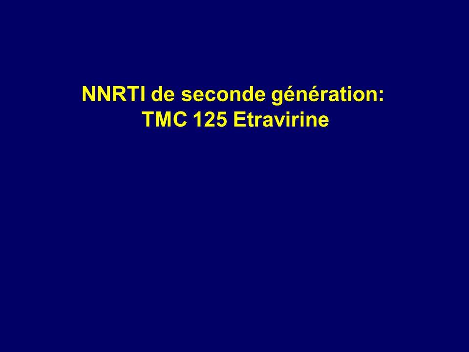 NNRTI de seconde génération: TMC 125 Etravirine