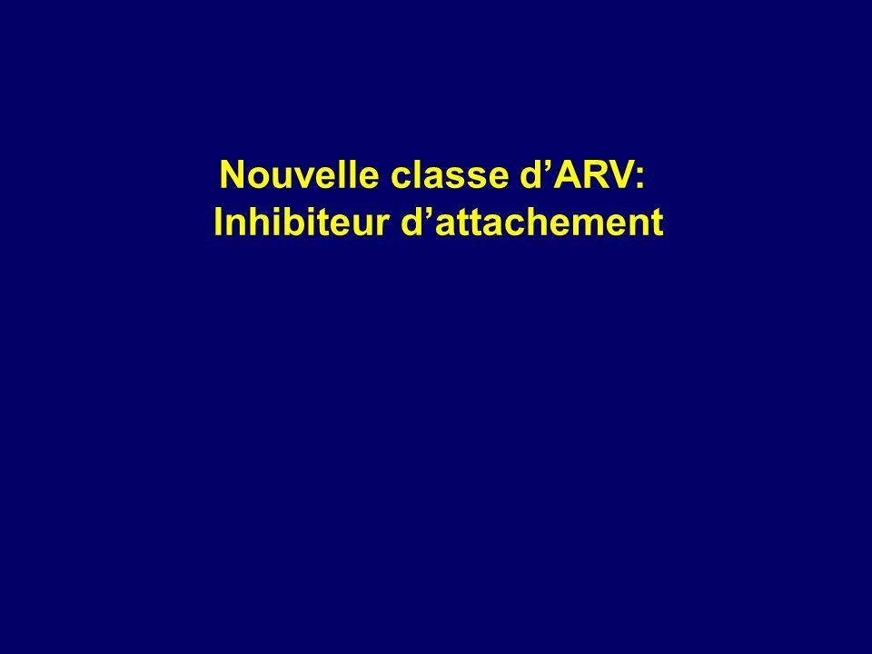 Nouvelle classe dARV: Inhibiteur dattachement