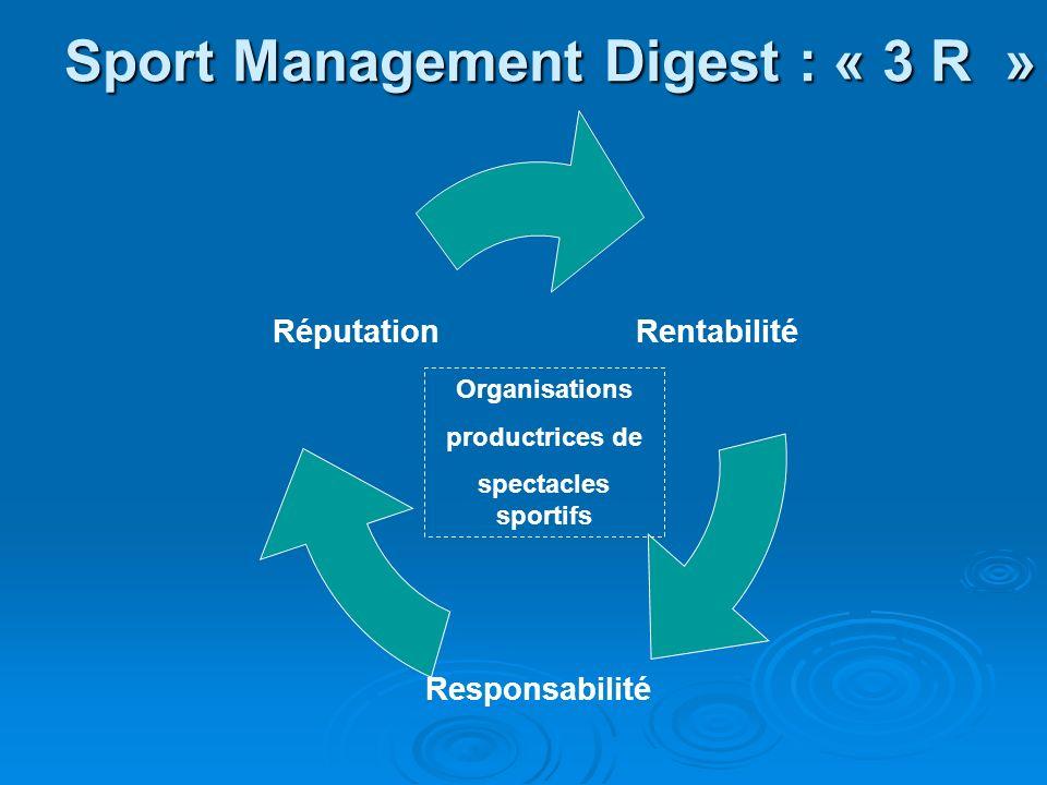 Stratégie pour les organisations sportives .