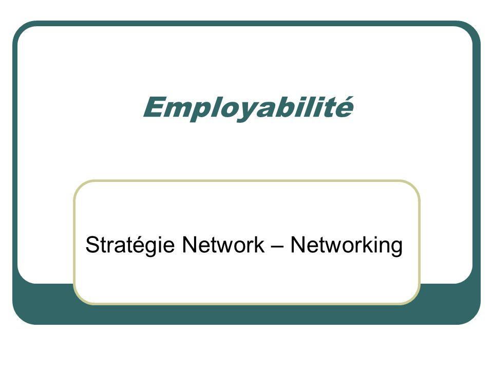 Employabilité Stratégie Network – Networking
