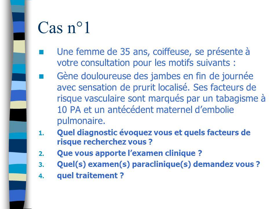 Réponses cas n°1 2.