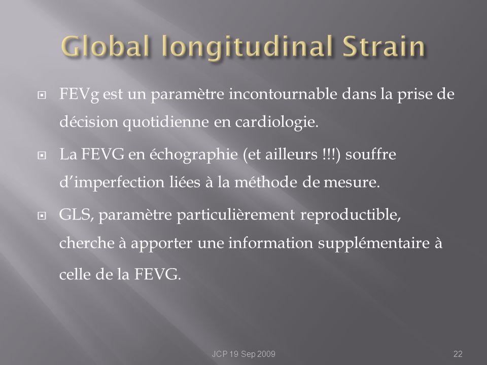 FEVg est un paramètre incontournable dans la prise de décision quotidienne en cardiologie. La FEVG en échographie (et ailleurs !!!) souffre dimperfect