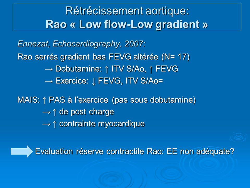 IM fonctionnelle: Evaluation à lexercice SOR= 0.19 cm2 SOR= 0.40 cm2