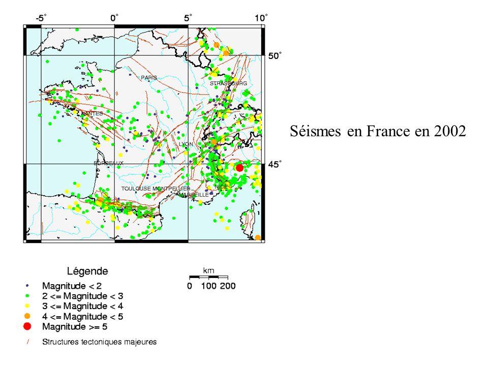 Séismes en France en 2002