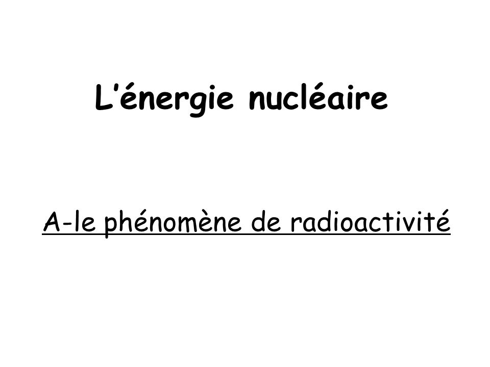 Formation de la Terre 4,6 Ma = élements chimiques stables et instables
