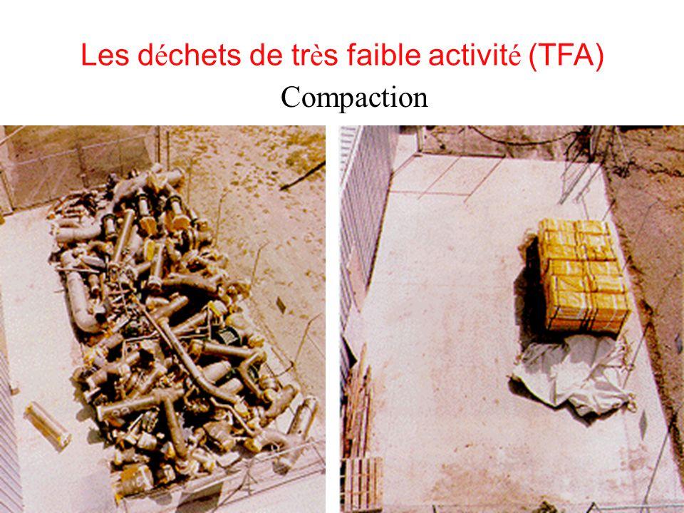 Les d é chets de tr è s faible activit é (TFA) Compaction