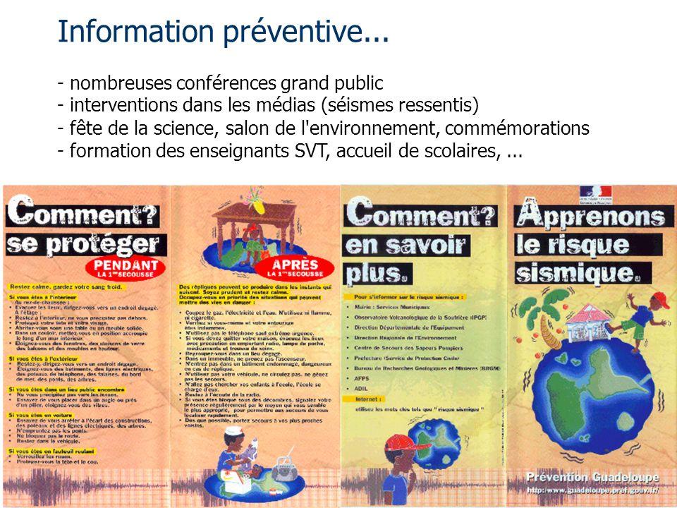 Information préventive...