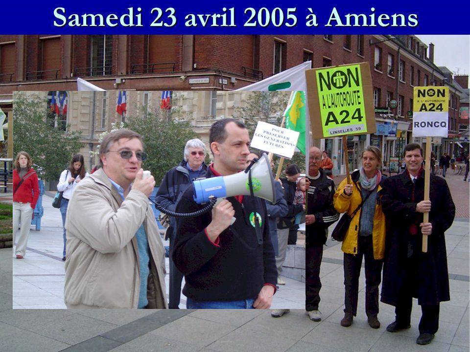 Samedi 23 avril 2005 à Amiens