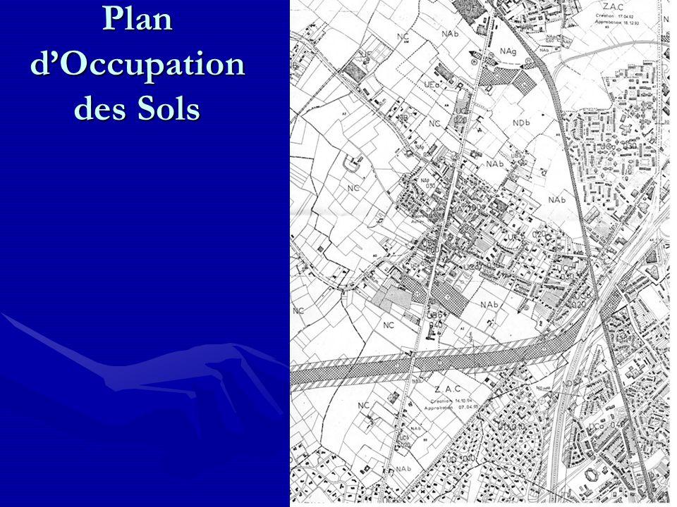 Plan dOccupation des Sols