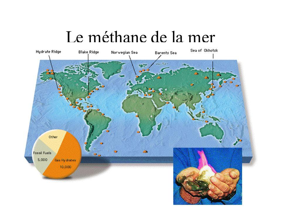 Le méthane de la mer