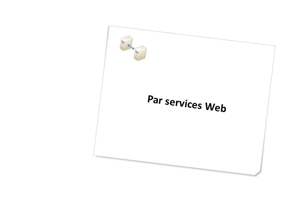 Par services Web