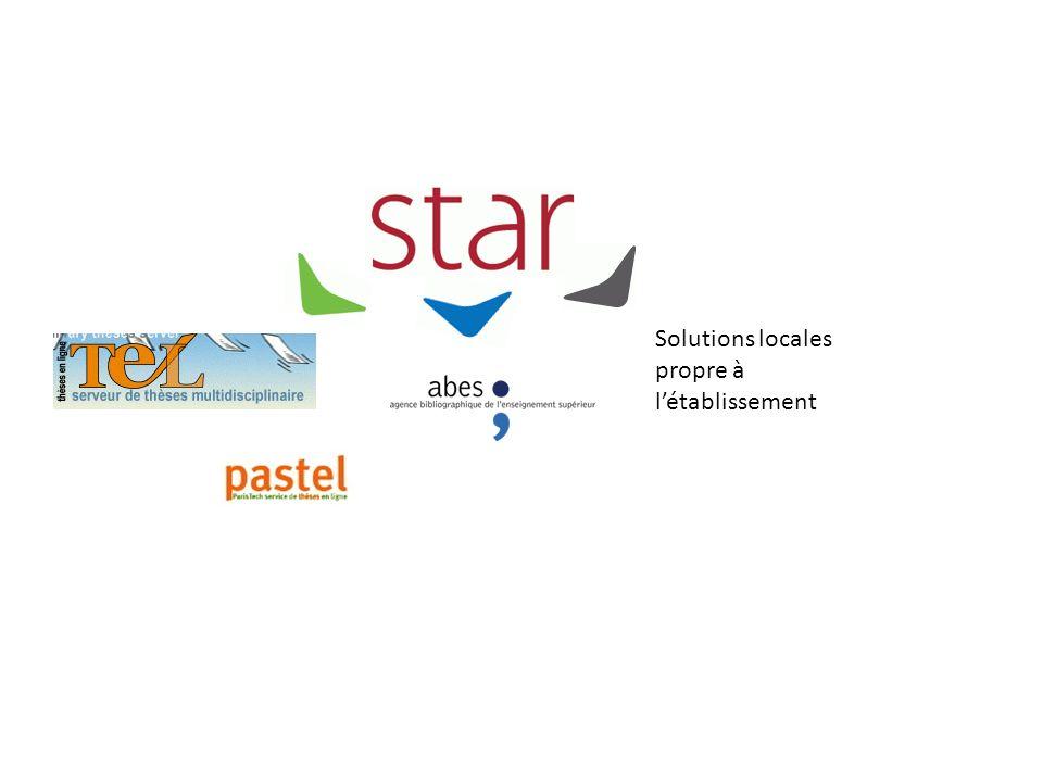 Comment déclarer dans STAR les choix de diffusion sur Internet .