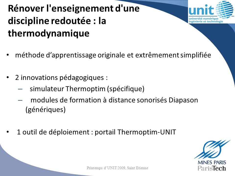 Utilisation pédagogique Autour de 250 enseignants impliqués par an plus de 7 000 élèves par an plus de 57 000 heures-élèves par an Printemps dUNIT 2009, Saint Etienne