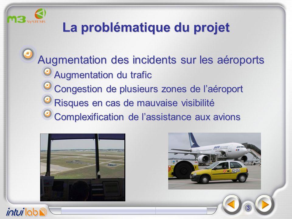 4 Le contexte opérationnel Un environnement complexe Procédures aéroportuaires très précises et nombreuses Métiers diversifiés dont certains à faible formation Problématique de productivité Coordination entre véhicules et supervision