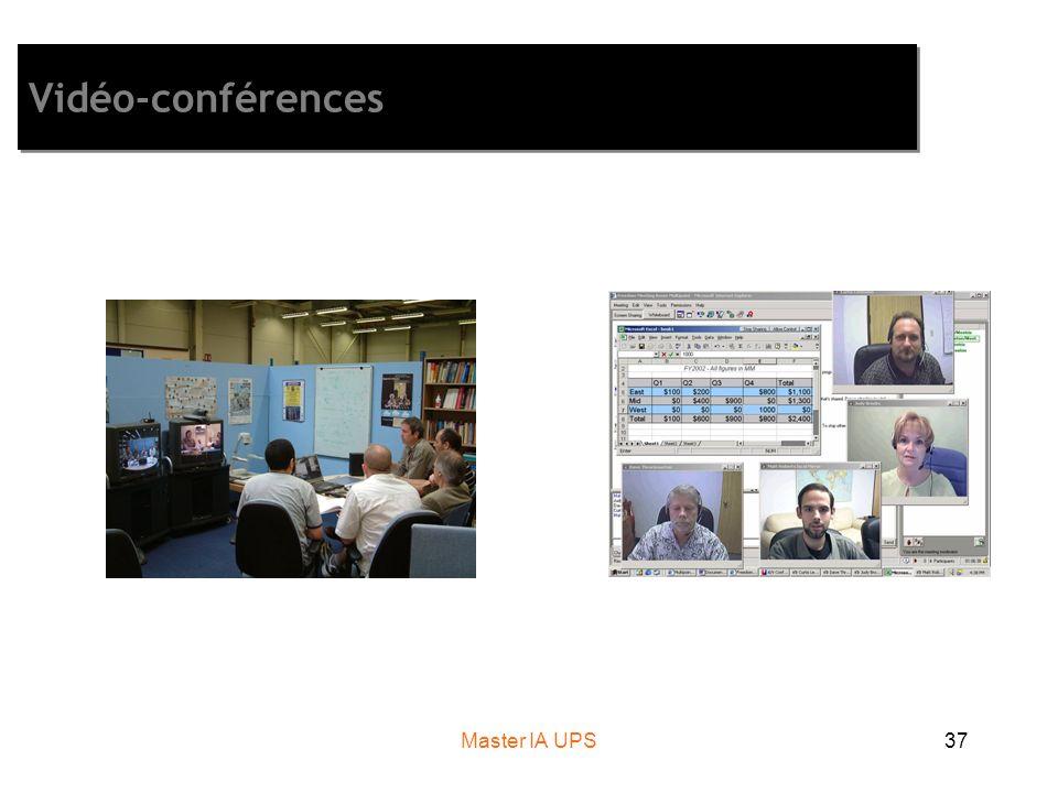 Master IA UPS37 Vidéo-conférences