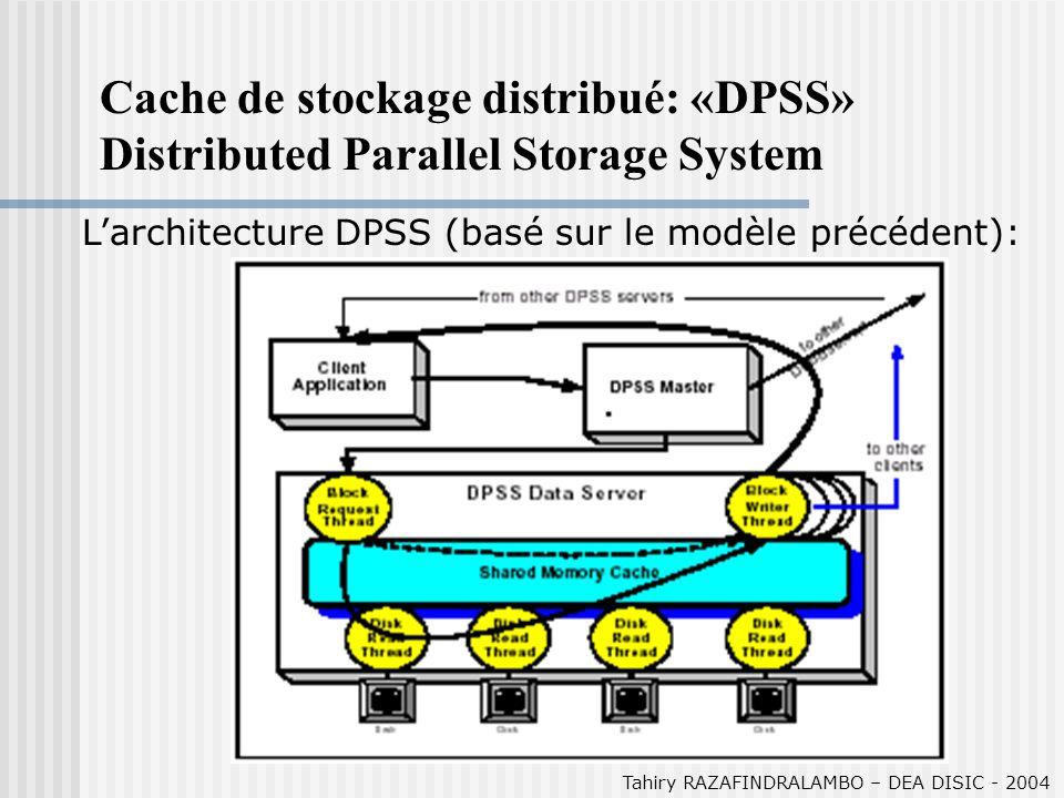 Tahiry RAZAFINDRALAMBO – DEA DISIC - 2004 Résultats (3) Load Balancing: comparaison entre les 2 algo pour le load balancing sur 3 clients.
