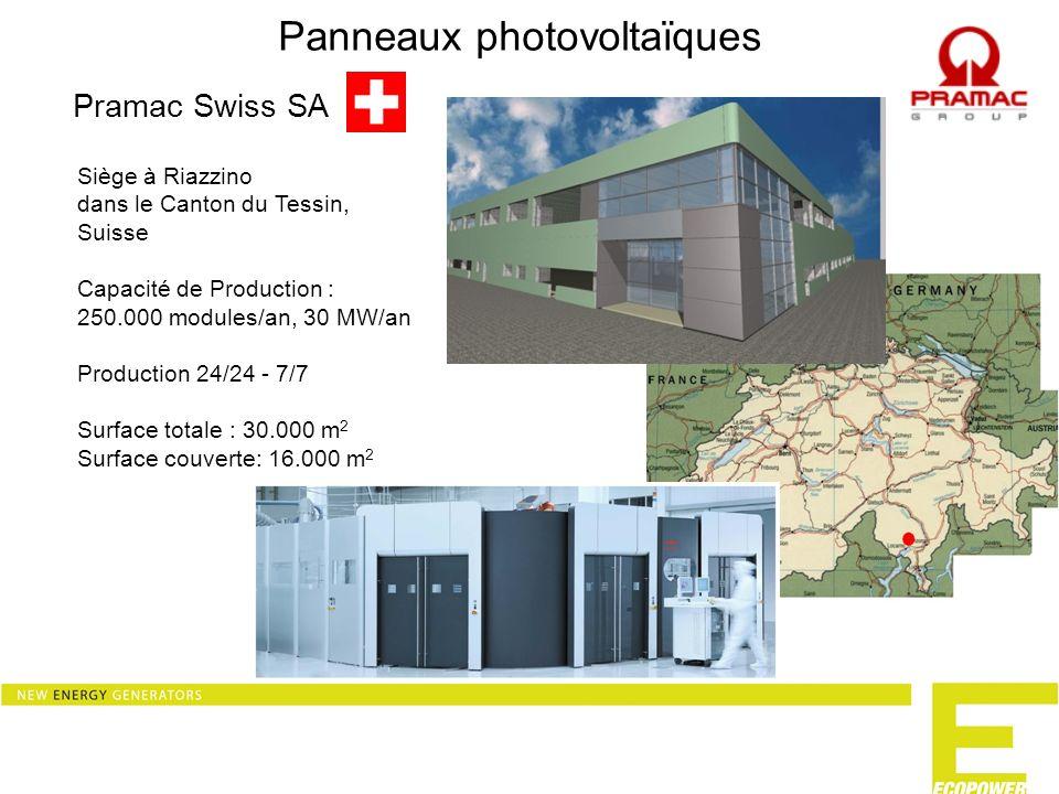 Module Micromorphe Pramac investit dans une technologie davenir : Les modules photovoltaïques Micromorphe.