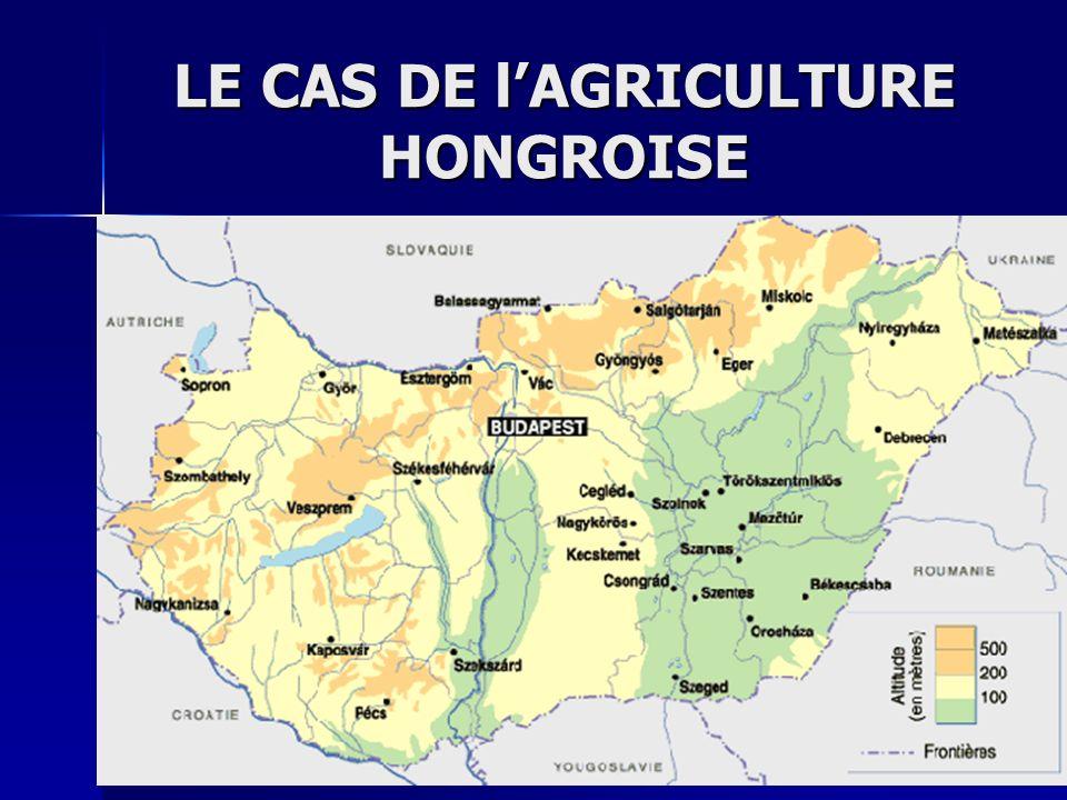 LE CAS DE lAGRICULTURE HONGROISE