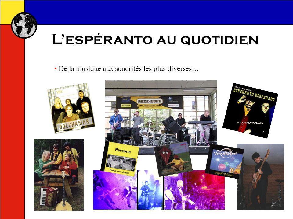Lespéranto au quotidien Une chaîne de télévision visible par internet