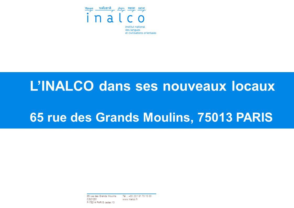 p. 12 65 rue des Grands Moulins, 75013 PARIS