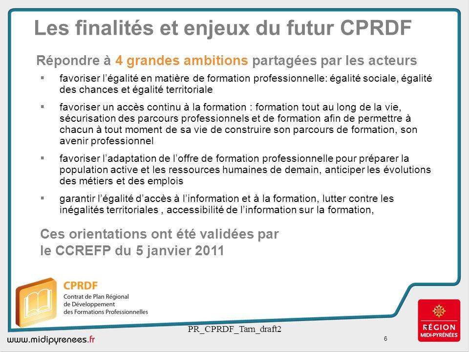 PR_CPRDF_Tarn_draft27 favoriser légalité en matière de formation professionnelle: égalité sociale, égalité des chances et égalité territoriale favoris