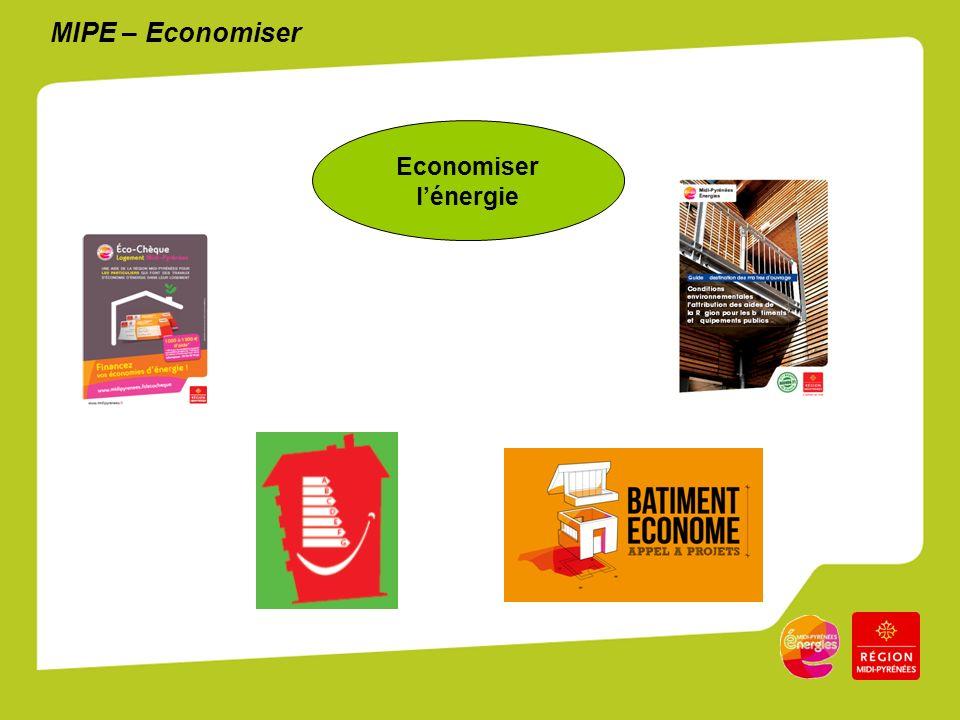MIPE – Economiser Economiser lénergie
