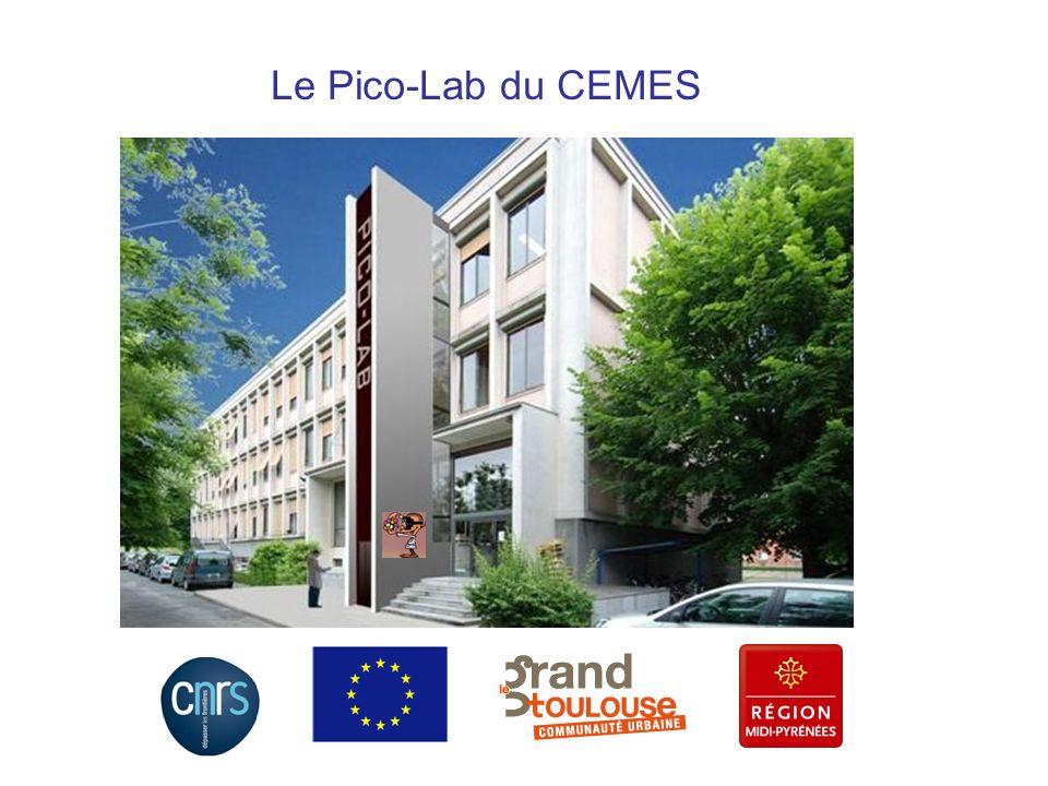 CPER 2007-2013 : Campus Gaston Dupouy Des nanomatériaux aux nanosciences moléculaires et aux picotechnologies Haute-Garonne, Toulouse, Campus J.