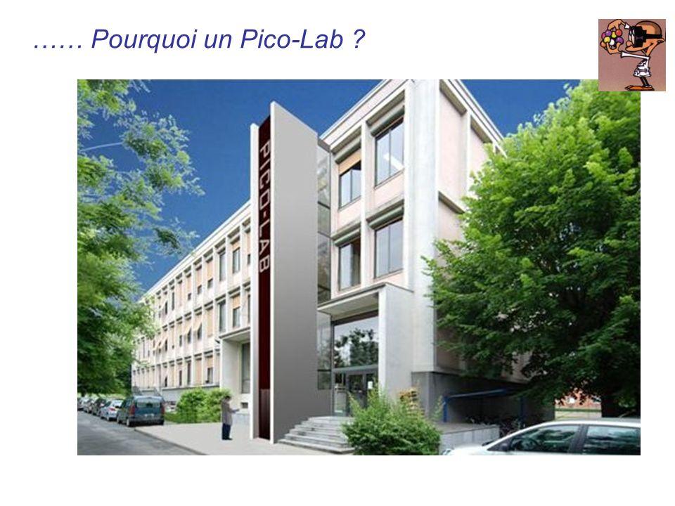 …… Pourquoi un Pico-Lab ?